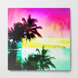 Hawaiian sunrise wash Metal Print