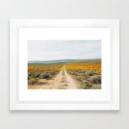Road Less Traveled Framed Art Print