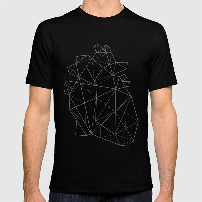 origami heart tshirt by heartskippedabeat society6