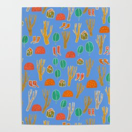 Pattern Project #3 / Forest Life Poster