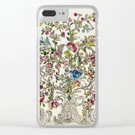 Rococo Court Mantua Clear iPhone Case
