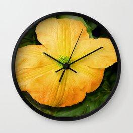 Spring Bloom Wall Clock