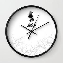MR. BLACK CAT Wall Clock