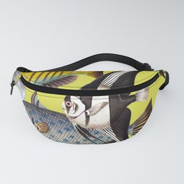 Fish World yellow Fanny Pack