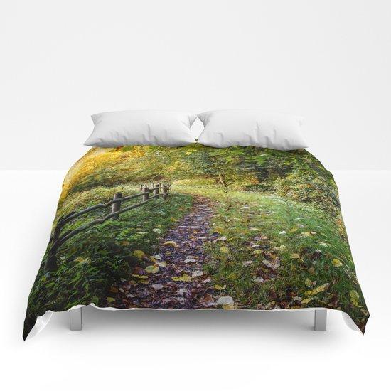 An Autumn Walk Comforters