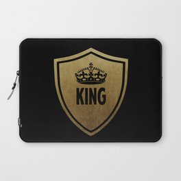 King & Queen (For Him & For Her) Laptop Sleeve