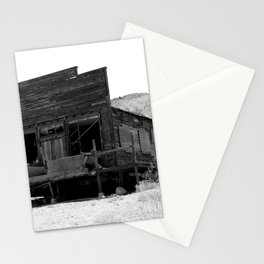Old Butte Mining Camp in Randsburg, California Stationery Cards