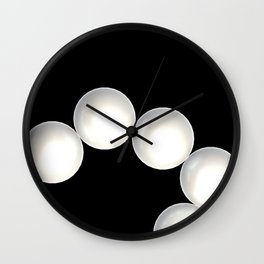 Pearl Necklace Wall Clock