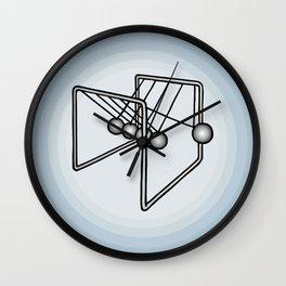Newton's balls or Executive Ball Clicker Wall Clock