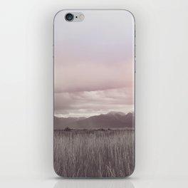 Storm over Montana iPhone Skin