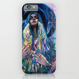 The Rustle of Narwhal's Wings iPhone Case