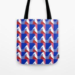 El Blue Cruce Tote Bag
