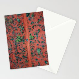 The Australian Outback Roads | Aerial Stationery Cards