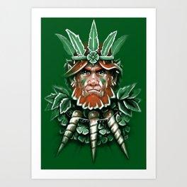 Wild Leprechan Art Print