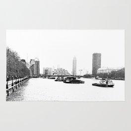 The River Thames. Rug