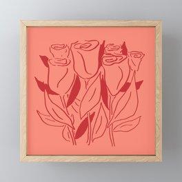 Rosey Life Framed Mini Art Print