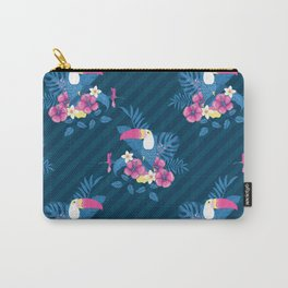 Tropical Flora and Fauna Carry-All Pouch