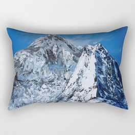 Himalayas Machapuchare (massif Annapurna) Rectangular Pillow