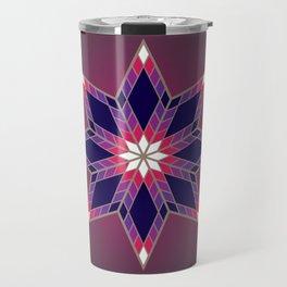Morning Star Circle (Purple) Travel Mug