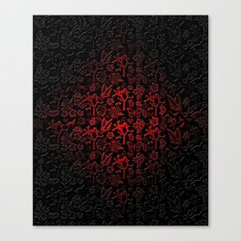 Joshua Tree Vampiro by CREYES Canvas Print