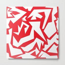 weird red art Metal Print