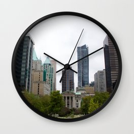 Vancouver from Robson Square Wall Clock