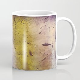 Purple and Yellow Frozen in Time Coffee Mug