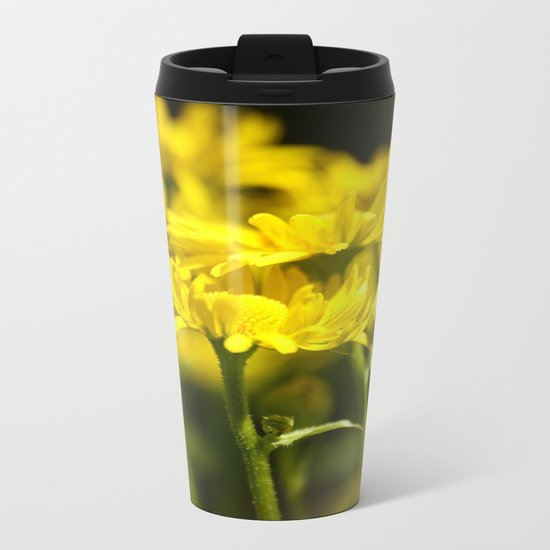 Flowers for Her! Metal Travel Mug