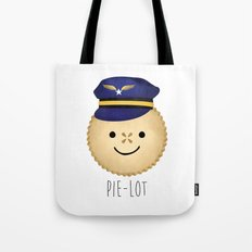 Pie-lot Tote Bag