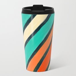 Coloured Stripes Travel Mug