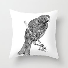 Lovely Bird Throw Pillow