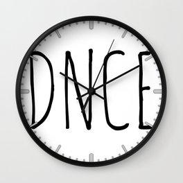 DNCE #2 Wall Clock