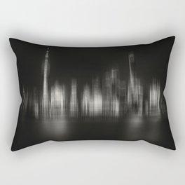 Shanghai Skyline IV Rectangular Pillow