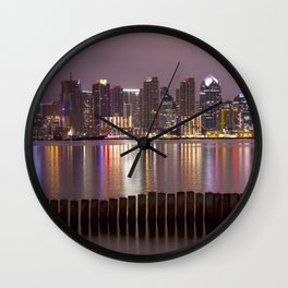Downtown San Diego Wall Clock