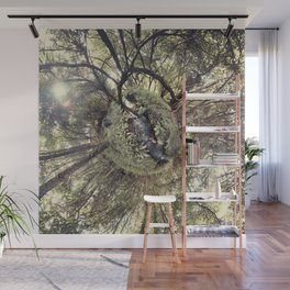 ROUND FOREST Wall Mural