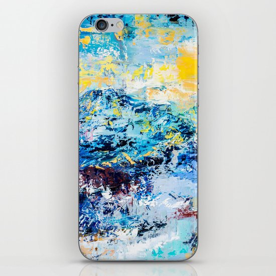 Visionary mountain iPhone Skin
