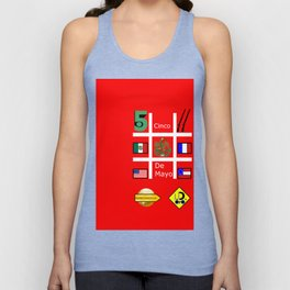 #CincoDeMayo Unisex Tank Top