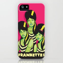 Frankettes iPhone Case