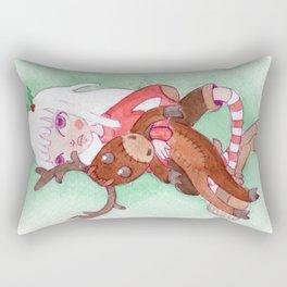 Princess Moose Rectangular Pillow