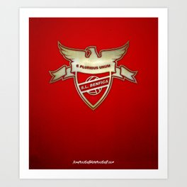 Benfica Concept Print Art Print