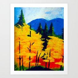 One Autumn Morning Art Print