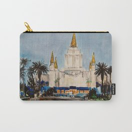 Oakland California LDS Temple Dusk Carry-All Pouch
