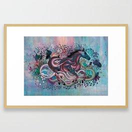 Poetry in Motion Framed Art Print