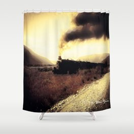 Mystery Train - Graphic 1 Shower Curtain
