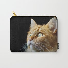 Portrait of ginger cat close-up. Carry-All Pouch