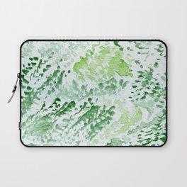 Green Serene Watercolor Laptop Sleeve