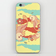 go with the flow iPhone & iPod Skin