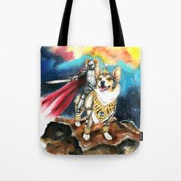 Corgi Galaxy Tote Bag