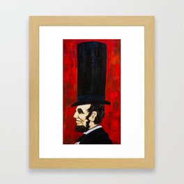 Abraham Lincoln -f Framed Art Print