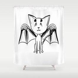 Good or Evil? Shower Curtain